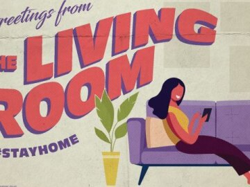 """Greetings From Home: """"Living Room 2"""""""