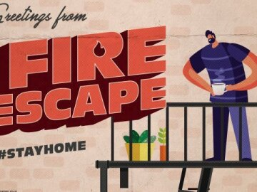 """Greetings From Home: """"Fire Escape 1"""""""