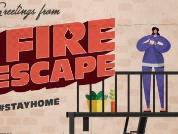 """Greetings From Home: """"Fire Escape 2"""""""