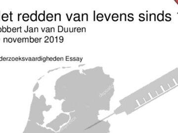 Essay on Vaccines - Dutch