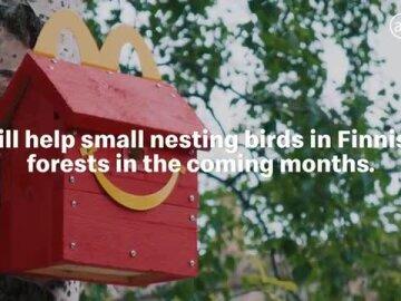 Happy Meal Bird Box