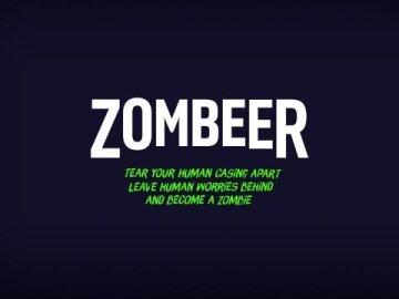 Zombeer - beer packaging