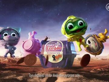 Freddo Treasures Space Range (10s)