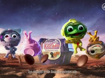 Freddo Treasures Space Range (6s)