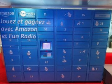 Amazon Locker, Le Calendrier De L'avent