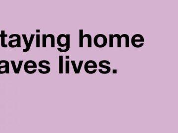 #AloneTogether. Saves lives