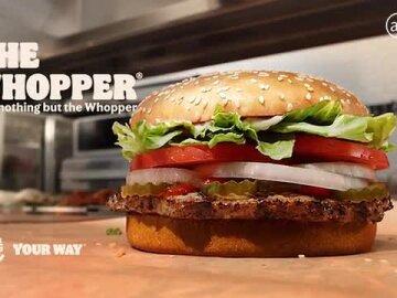 100% Whopper
