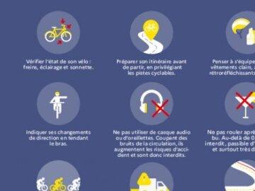 Rouler à vélo en toute sécurité