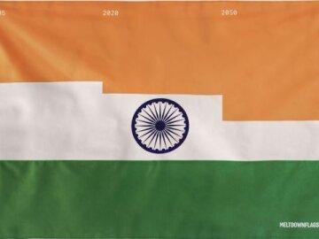 Meltdown Flag (India)