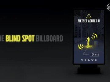 Volvo Blind Spot Billboard (French subt)