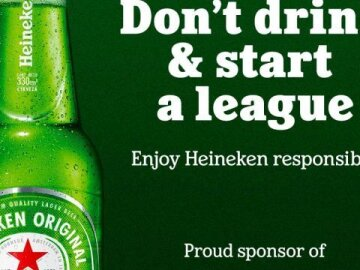 Don't Drink and Start a League
