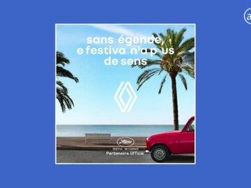 Renault 4L, icône du Festival de Cannes