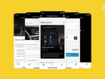 Mercedes me Store – From Vehicle to Living Space, From Connected Car to Marketplace