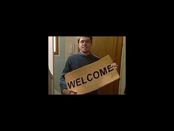 Welcome doormat (French)