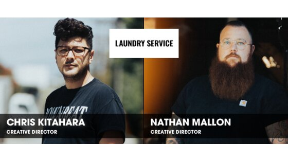 Natural Collaboration: Chris Kitahara & Nathan Mallon, Laundry Service
