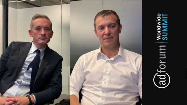 Q&A with Gareth Collins & Michael Komasinski at the AdForum Summit London 019