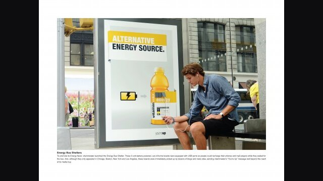 Power Up Bus Shelters