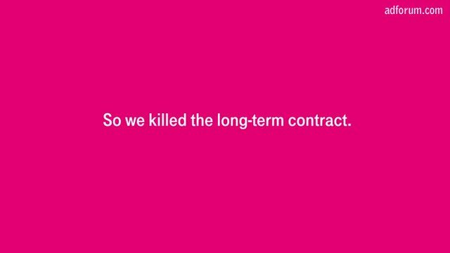 We Killed the Long-Term Contract