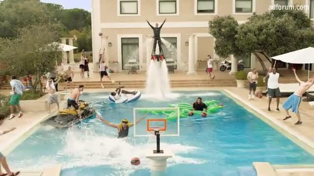 Epic Pool Dunk