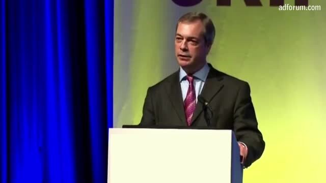Farage Loves Europe