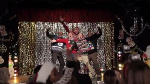 Dads Pull Out Surprise Dubstep Dance For Christmas