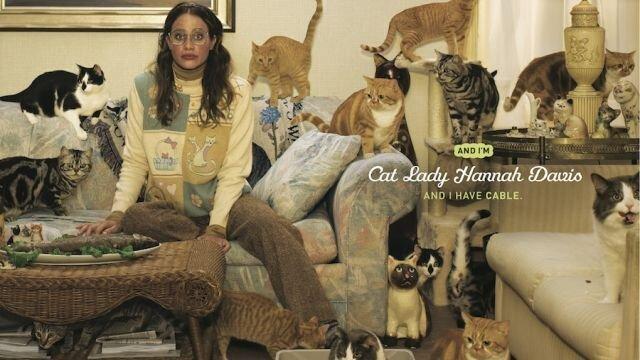 Cat Lady Hannah Davis