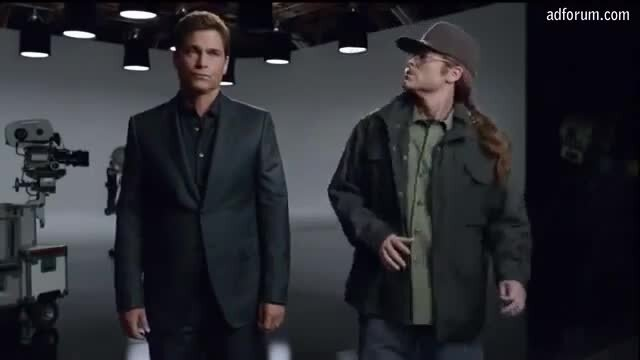 Overly Paranoid Rob Lowe