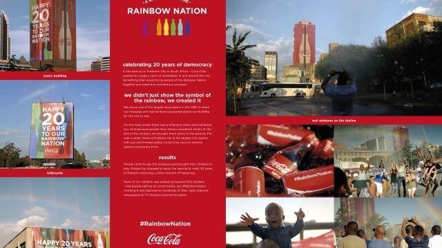 A Rainbow for the #RainbowNation