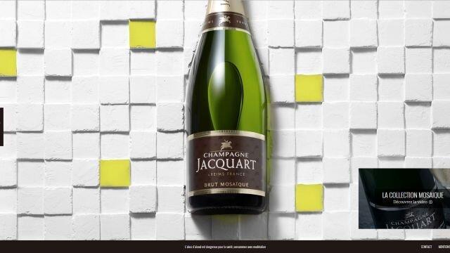 Refonte du site Champagne Jacquart