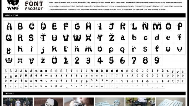 The Panda Font Project