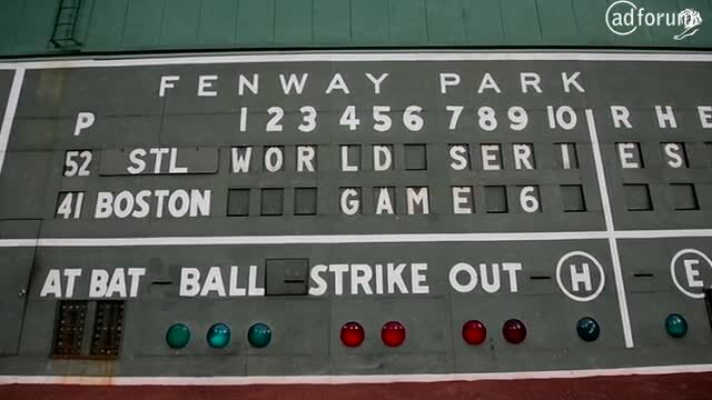 Red Sox : Green Monster