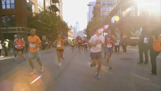 Moving Words at the Chicago Marathon
