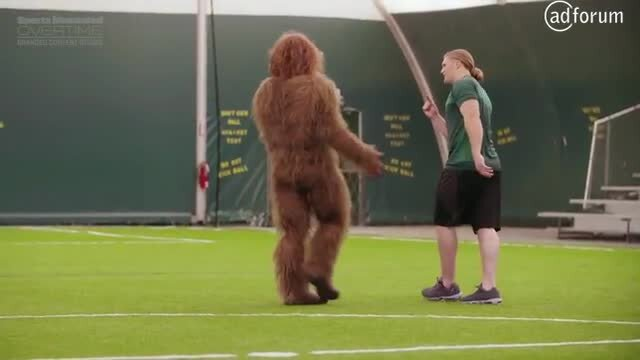 Sasquatch Found An Unlikely Man-Beast Mentor: Clay Matthews