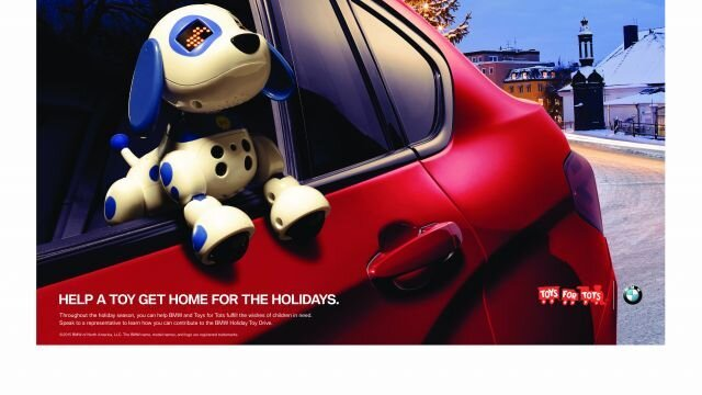 BMW Holiday Toy Drive
