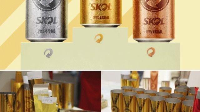 Skol Olympic Cans