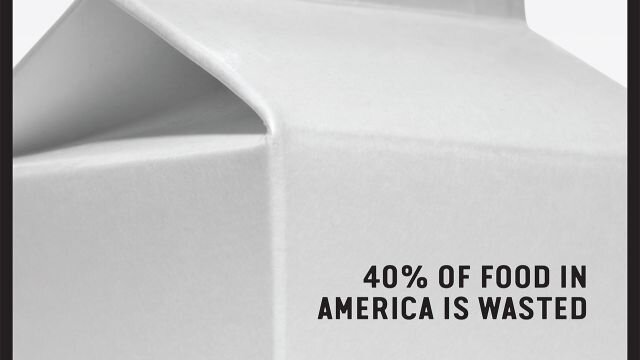 40% of food in america is wasted