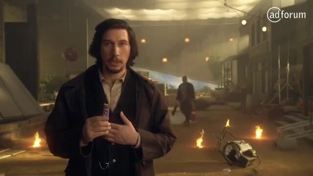 Adam Driver Apologizes for Snickers Live Mishap
