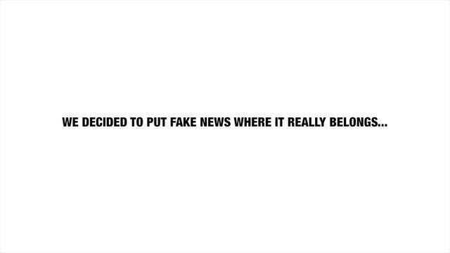 #CleanUpFakeNews
