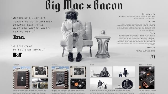Big Mac x Bacon Collaboration (board)
