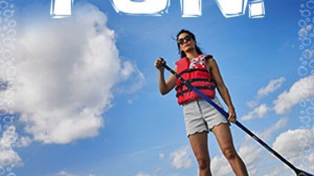 Web Banner: Paddle Board