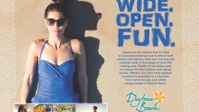 Print Ad: Beach