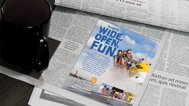 Print Ad: Jet Ski (Half Page)