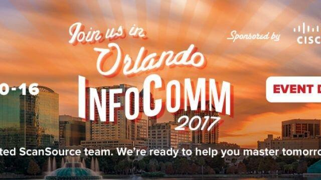 Web Banner: InfoComm 2017