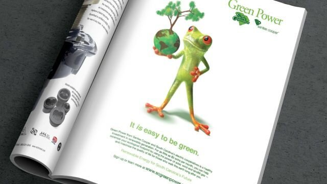 Print Ad: Green Power