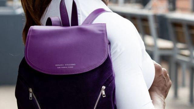 Purple Purse - Serena Williams