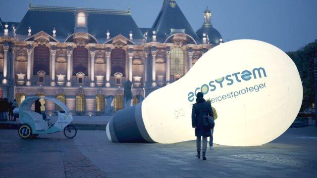 Ecosystem - étude de cas vidéo de la campagne #RecyclerCestProteger