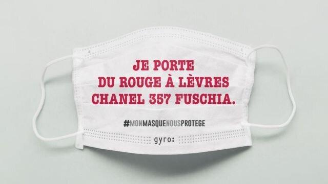 Je porte du rouge à lèvres Chanel 357 Fuschia