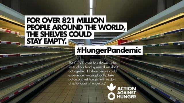 #HungerPandemic 1