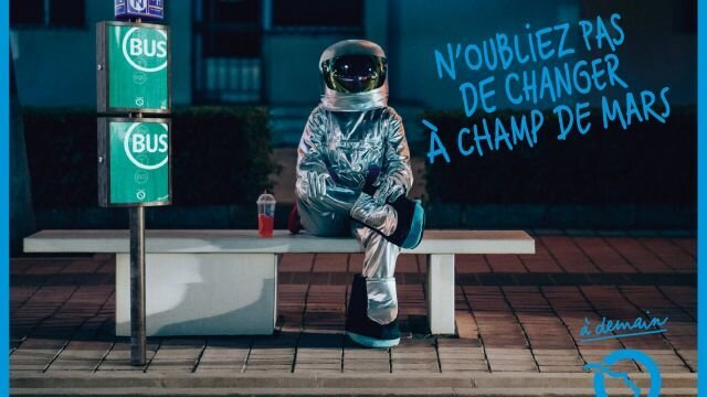 N'oubliez pas de changer au Champ de Mars
