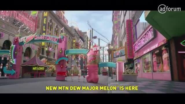 Mountain Dew Major Melon Super Bowl LV Teasers